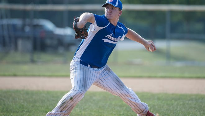Annville Legion ace Mitch Long will open the team's Region 4 tournament run Saturday down at Fayetteville against Dauphin County champion Lawnton at 1 p.m..