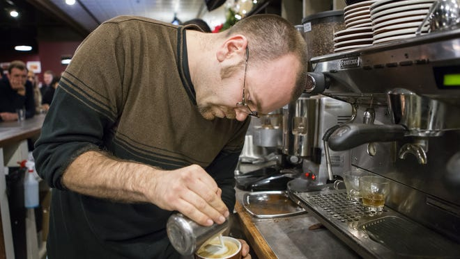 Greg Vogeley says his Drip Cafe in Hockessin has become so popular, he has expanded and remodeled