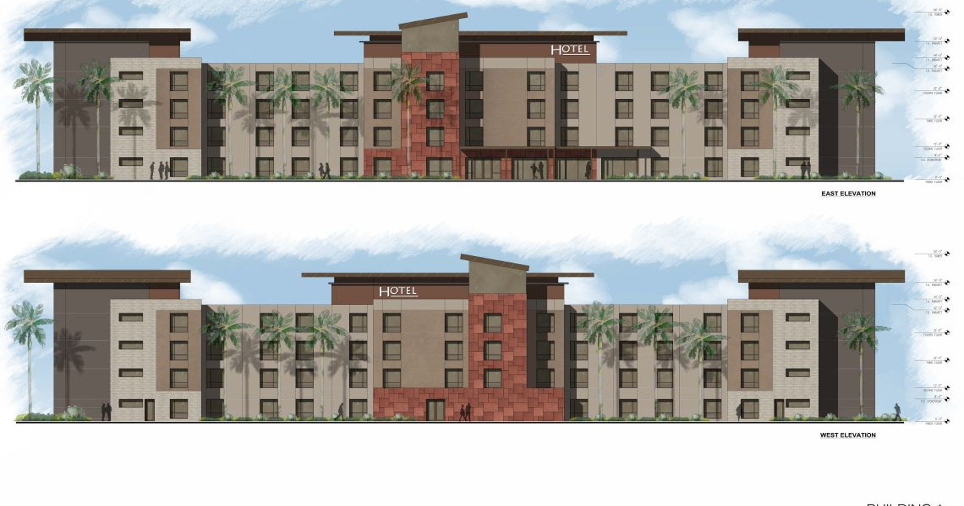 An empty lot near I-10 will be home to a hotel, drive-thru