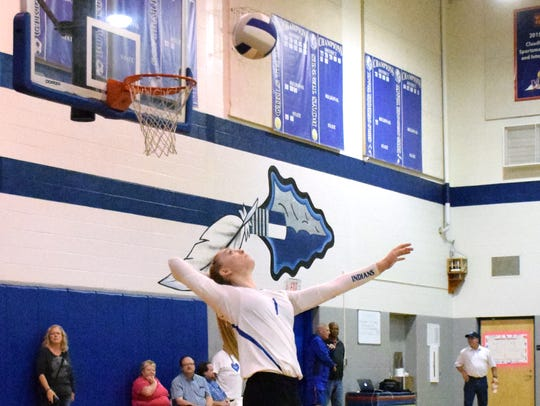 Fort Defiance's Madi Kimmel had 301 digs and 392 assists