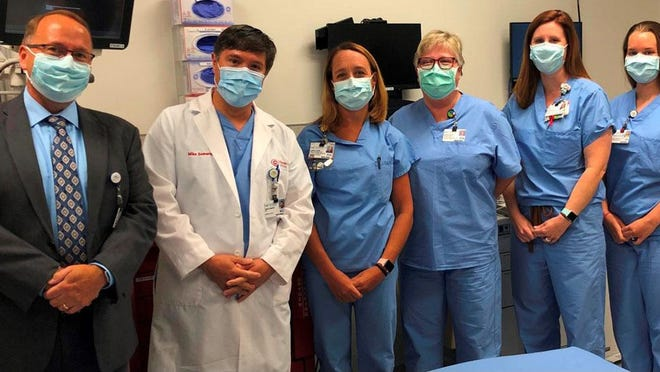 CarolinaEast's StrokeTeam is made up of multidisciplinary members across the health system that are responsible for various stages of stroke patient response from 911 call to treatment and recovery.