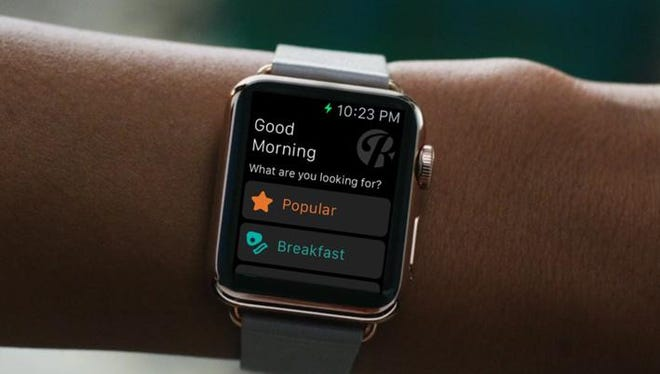 The Roadtrippers' Apple iWatch app lets you find points of interest like restaurants, attractions and activities within 10 miles of your location.