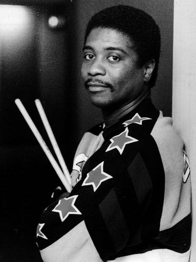 RICKY LAWSON | Dec. 23 (age 59) | The Grammy Award-winning drummer, one of the top studio musicians of the 1980s, collaborated with Michael Jackson, Eric Clapton, Phil Collins and Whitney Houston, most notably on 'I Will Always Love You.'