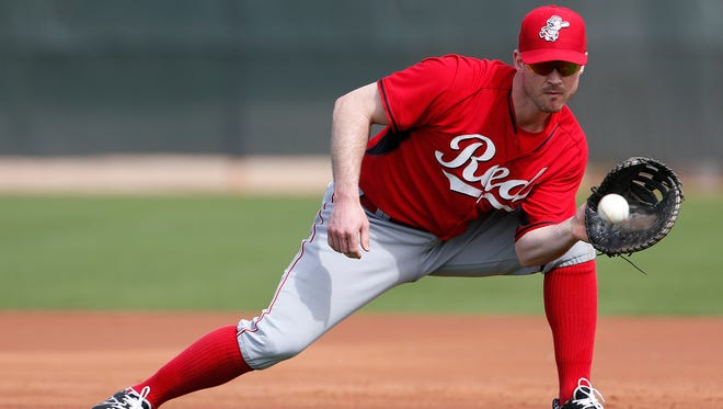 Jack Hannahan's move to the 60-day DL opened a spot for a non-roster invitee.