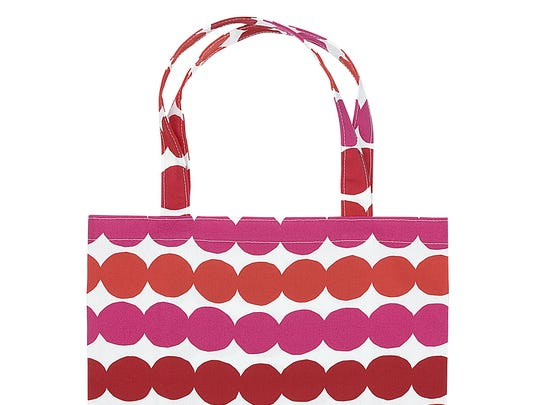 $10 from the purchase of this $38.50 cotton tote from Marimekko goes to the Breast Cancer Research Foundation, with a minimum donation of $10,000. To shop: www.marimekko.com