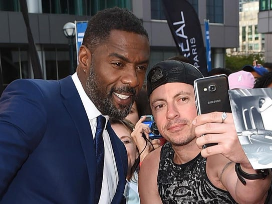 Idris Elba is among the ton of celebrities at the festival.