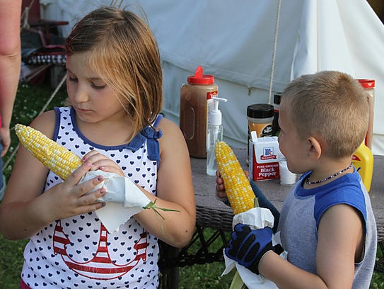 Sawdust Days is a big attraction in Menominee Park
