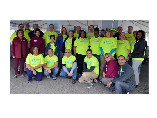 Atlantic City Electric employees volunteered at the
