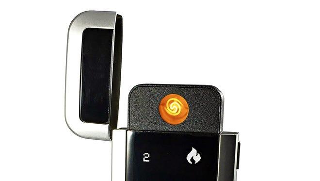 Quitbit es un encendedor eléctrico que registra la cantidad de cigarros que enciendes.
