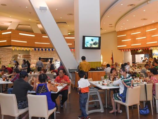 Families and guests attend the Philippine Independence buffet opening at Taste in Westin Resort Guam on June 12, 2017.
