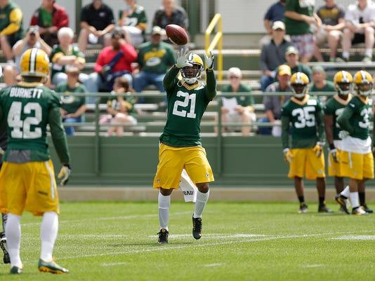 GPG ES Packers OTA practice 6.2.16