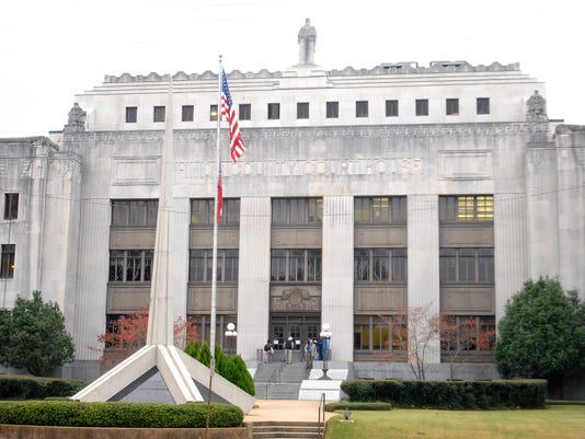 Hinds County Courthouse in Jackson