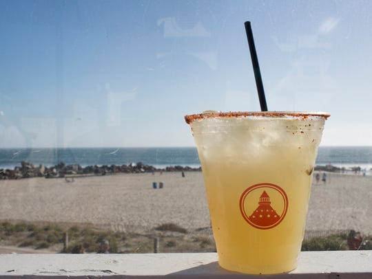 The Some Like it Hot Margarita at the Hotel Del Coronado
