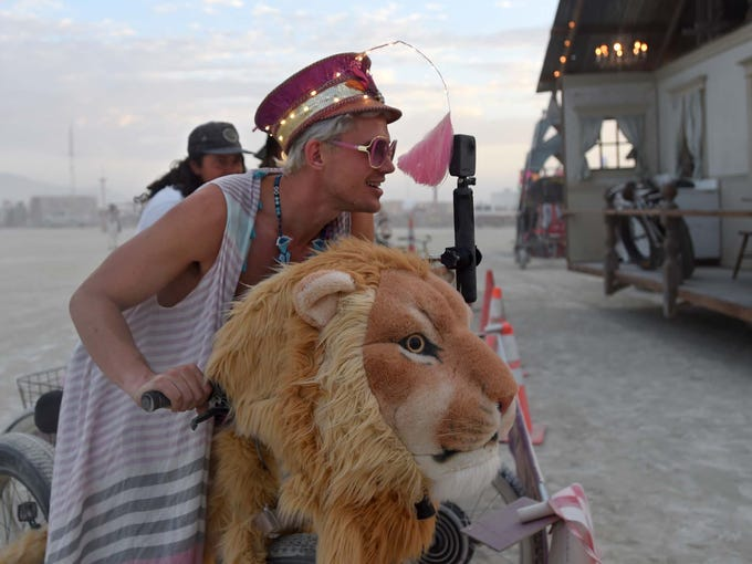 Images from Burning Man 2017.
