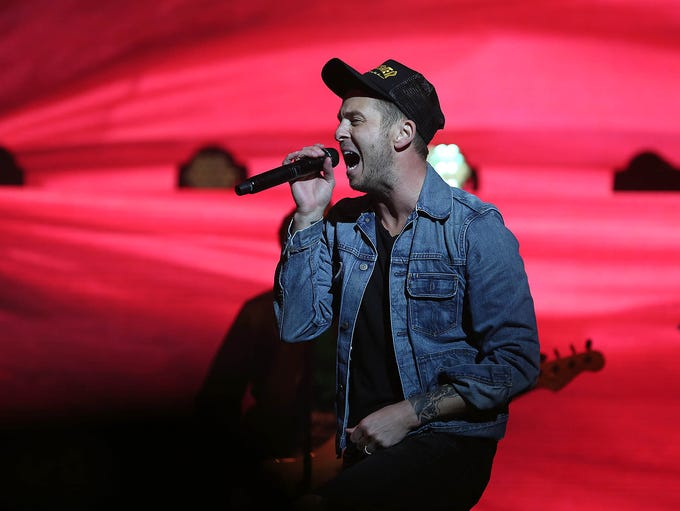 OneRepublic performs at the TPC Scottsdale Birds Nest