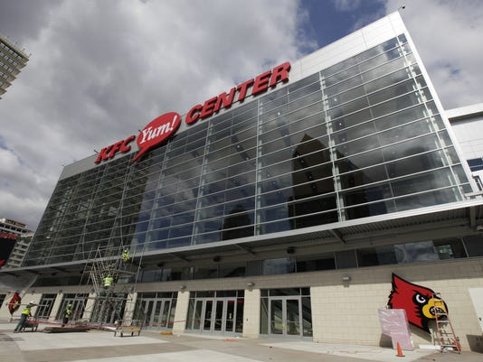 NEW DOWNTOWN ARENA; KFC YUM! CENTER