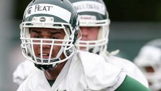 Cassius Peat, who left Michigan State in August, says he'll transfer to UCLA.