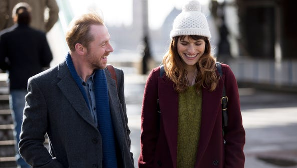Simon Pegg and Lake Bell  star in the fresh and lively