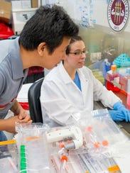Hengli Tang, biology professor at Florida State University,