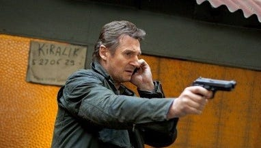 Liam Neeson is back in action in 'Taken 3,' this time trying to clear himself of his wife's murder and catch the real killer.