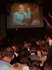 A large crowd packs the Love Lounge, on April 30, 1997,