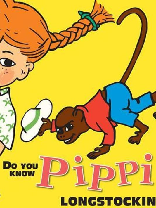 Checking Out Pippi Longstocking From >> Embrace Your Inner Pippi On Pippi Longstocking Family Fun Day