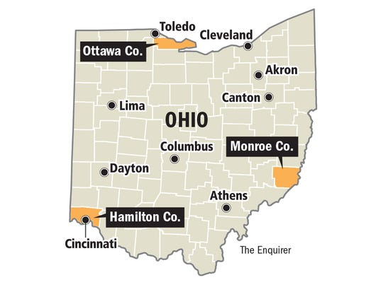 Voters in these three counties in swing-state Ohio
