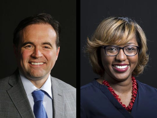 John Cranley and Yvette Simpson