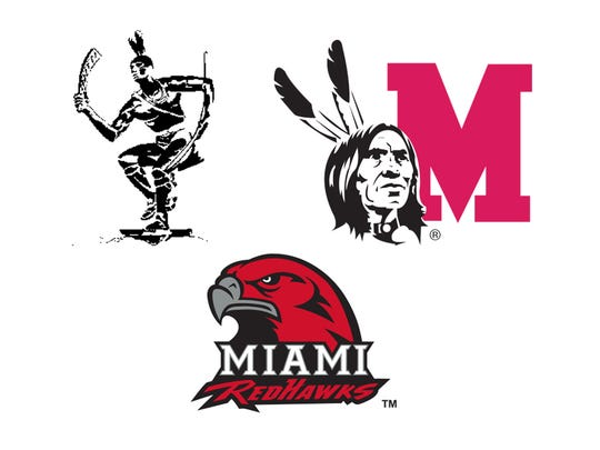 Miami University athletics logos and mascots evolved throughout the 1900s.
