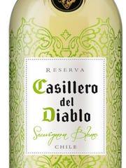 Casillero del Diablo sauvignon blanc, 2015: Aromatic, zippy acidity, solid finish. $11