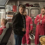 """Kurt Russell, center, plays Jimmy """"Mr. Jimmy"""" Harrell, a safety inspector, in the disaster movie """"Deepwater Horizon."""""""