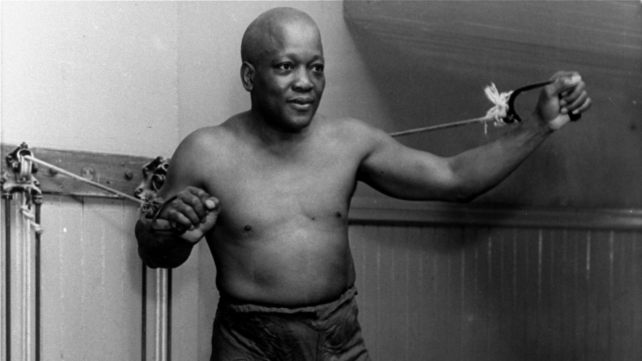 Jack Johnson was once the most despised man in Jim Crow-era America after becoming the first African-American boxing heavyweight champion of the world, the most coveted athletic title of the time. (Feb. 8)