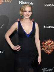 Jennifer Lawrence attends the 'Hunger Games: Mockingjay