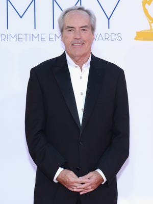 Actor Powers Boothe arrives at the 64th Annual Primetime Emmy Awards at Nokia Theatre L.A. Live on September 23, 2012