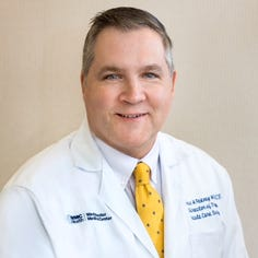 James Feeney, MD, appointed director of trauma services at MidHudson Regional Hospital