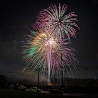 Fireworks light up the sky as Liberty Day celebration returns to Moul Field