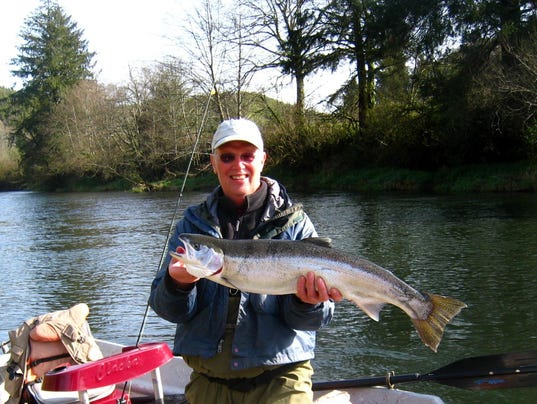 Winter steelhead bite coming into shape from coast to for Alsea river fishing report