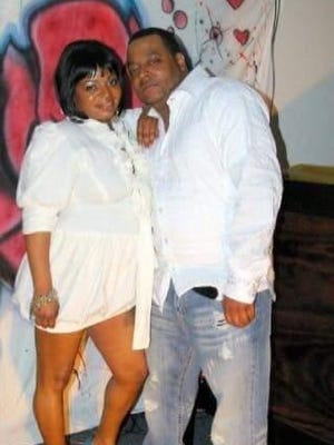 Corey Basden, who was fatally shot Monday night in Neptune, poses with his sister Cynthia Jackson in this family photo.