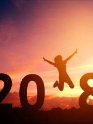 Start your 2018 right with these simple resolutions you'll actually KEEP!