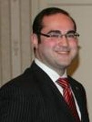 Ramapo Councilman Daniel Friedman,who is fighting with