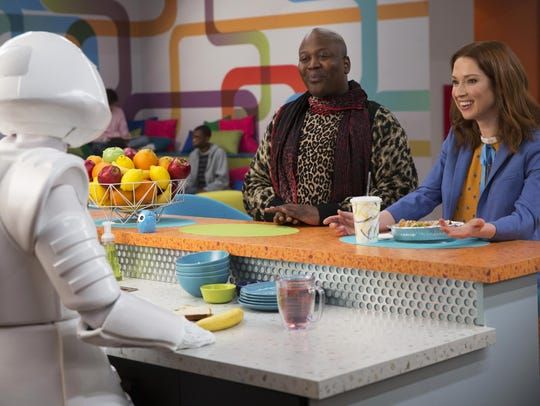 Tituss Burgess and Ellie Kemper star in season four