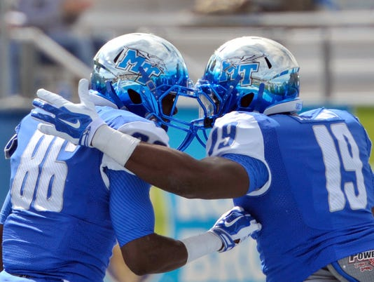 NCAA Football: Southern Mississippi at Middle Tennessee