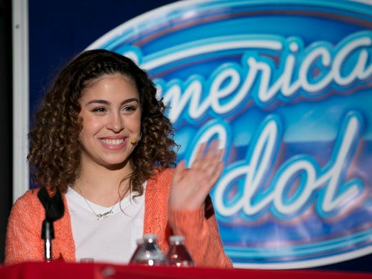 Gianna Isabella, daughter of pop singer Brenda K. Starr, was a finalist on Season 15 of American Idol. Her classmates at Jackson Memorial High School gave her a huge reception when she visited for the show's Hometown Week taping in 2016.