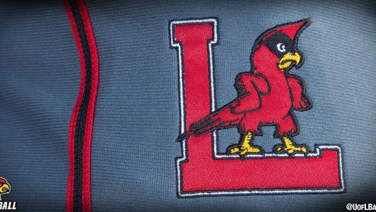 U of L's donning the fighting Cardinal logo for tonight's game at IU.