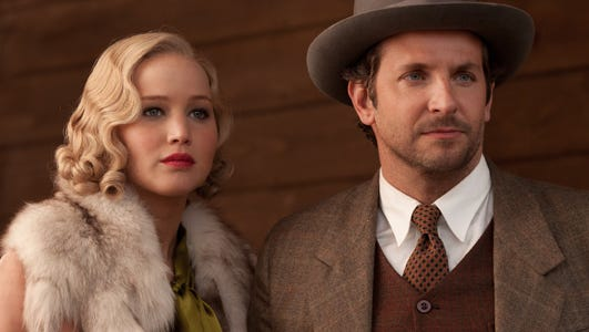 """Serena"" stars Jennifer Lawrence and Bradley Cooper."