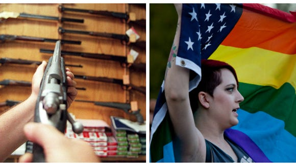 Guns vs. gays: Here's a primer on Senate Bill 1062 and how Arizonans think.
