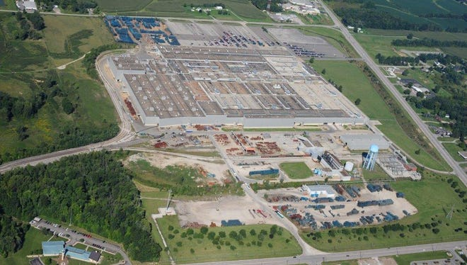 A News Journal file photo of the former GM plant site in Ontario.