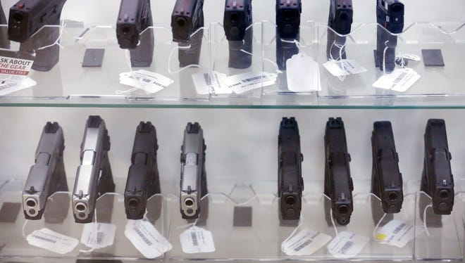 Hand guns for sale in Mesa, Ariz.