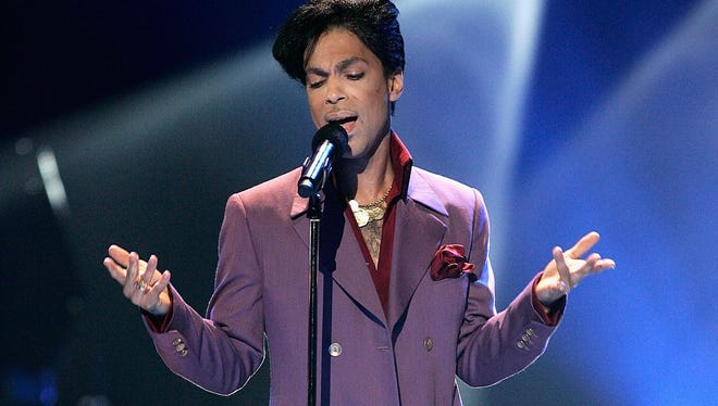 Musician Prince often wore purple when he performed. Now, Pantone has given him his own shade.
