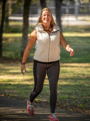 Begin the new year with a brisk walk.